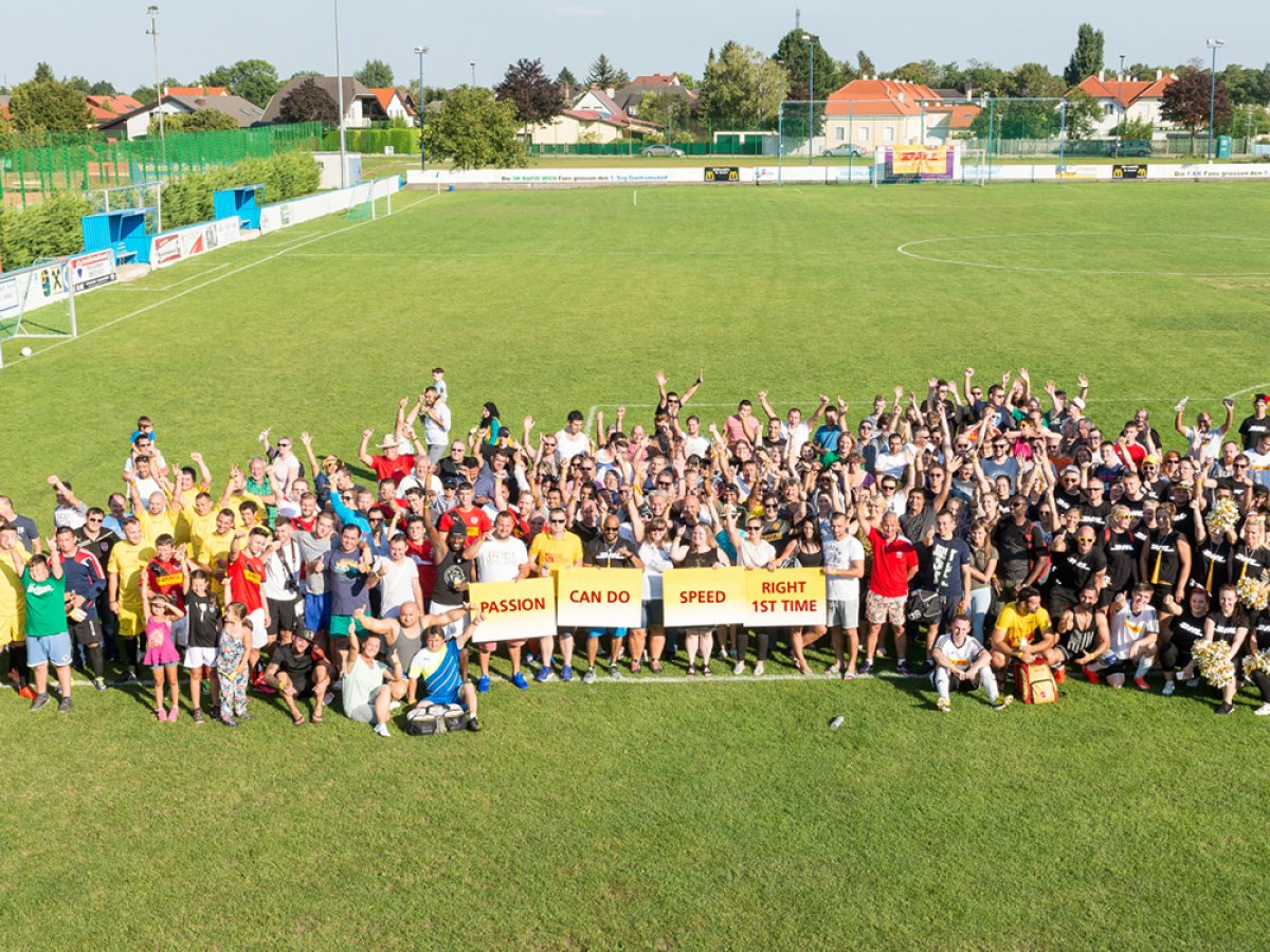 DHL Express Austria Great Place to Work Gruppenbild